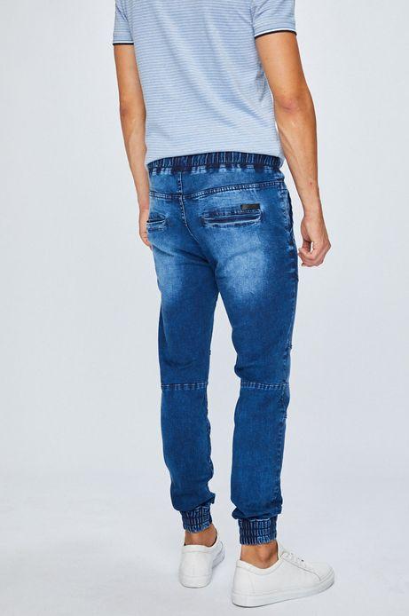 Jeansy męskie joggery niebieskie