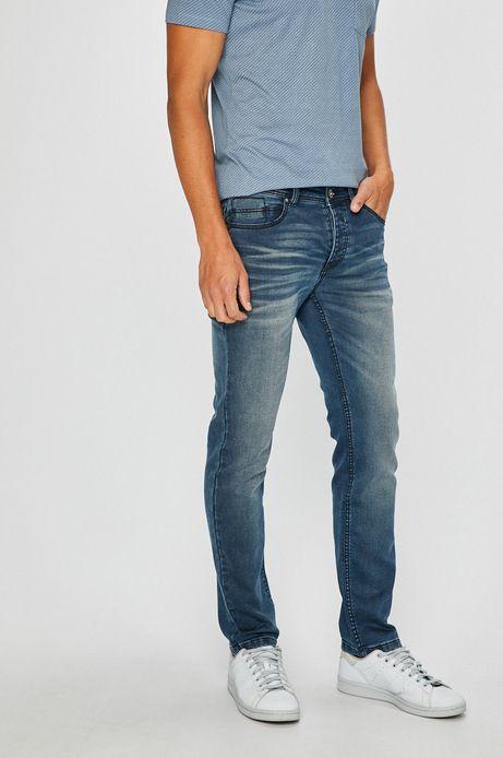 Man's Jeansy męskie slim niebieskie