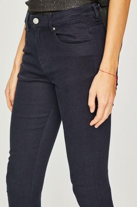 Spodnie damskie skinny granatowe