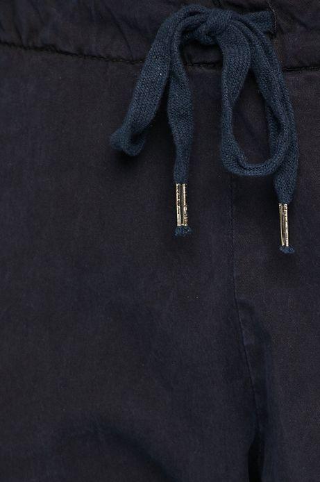 Spodnie damskie chinosy granatowe
