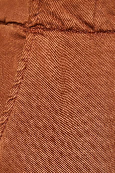 Spodnie damskie chinosy brązowe
