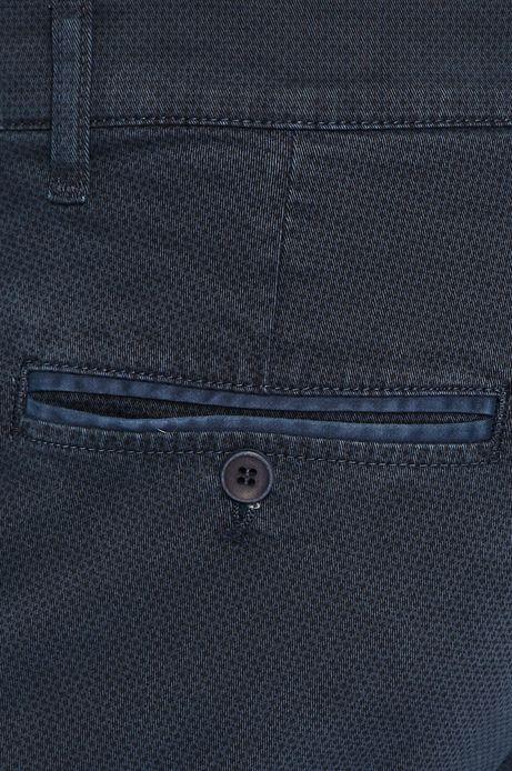 Spodnie męskie granatowe chinosy