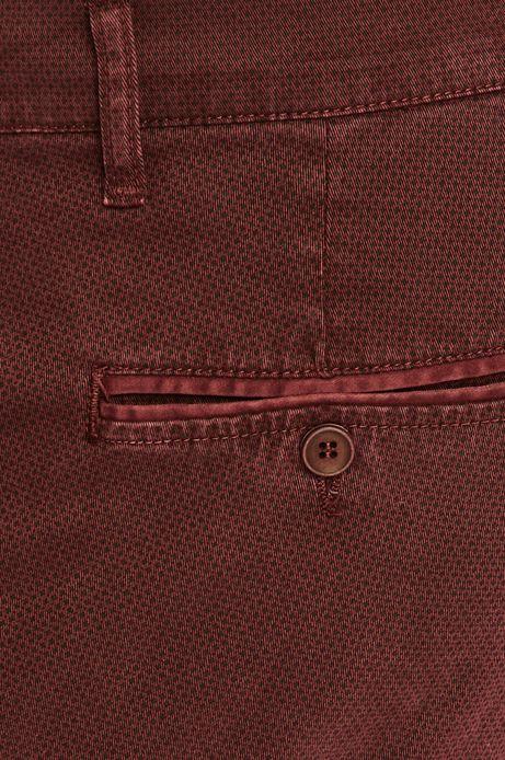 Spodnie męskie czerwone chinosy