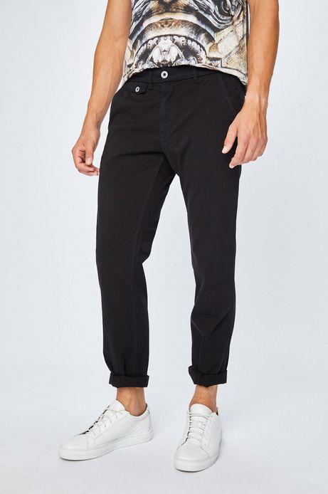 Spodnie męskie chinosy czarne