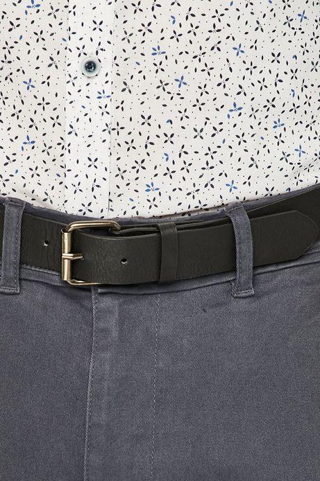 Spodnie męskie slim fit szare