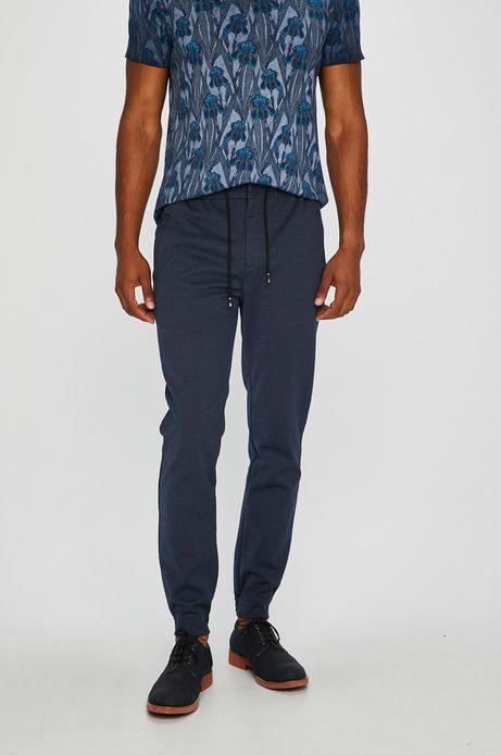 Spodnie męskie jogger niebieskie