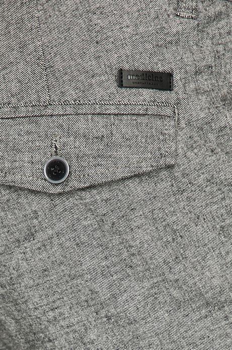 Spodnie męskie regular szare