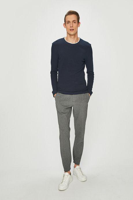 Spodnie męskie joggery szare