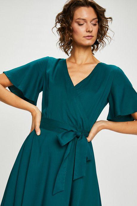 Woman's Sukienka Secret Garden zielona