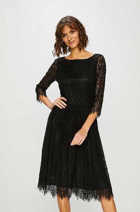 Sukienka damska koronkowa czarna