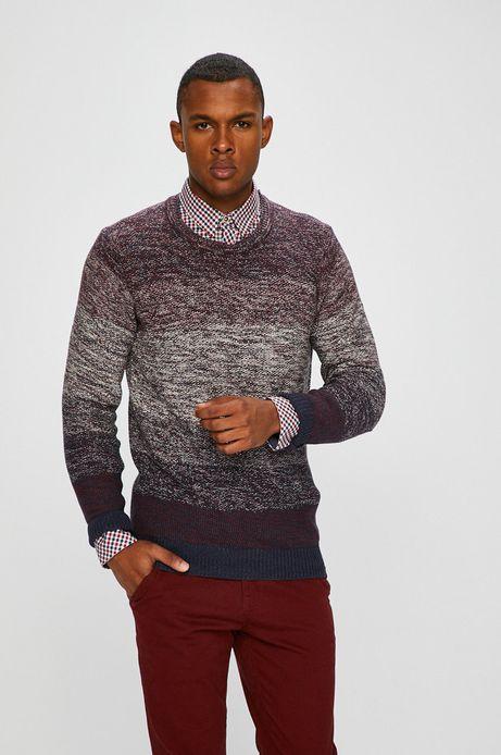 Sweter męski granatowy cienki