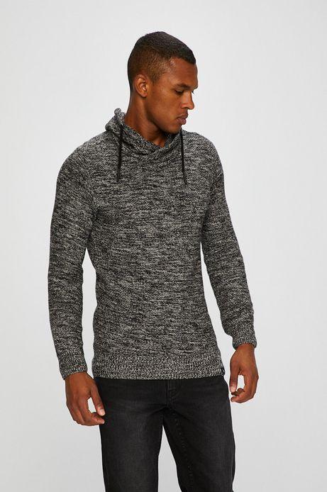 Sweter męski szary cienki