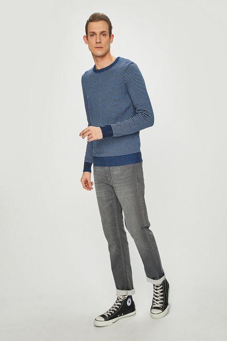 Sweter męski z okrągłym dekoltem