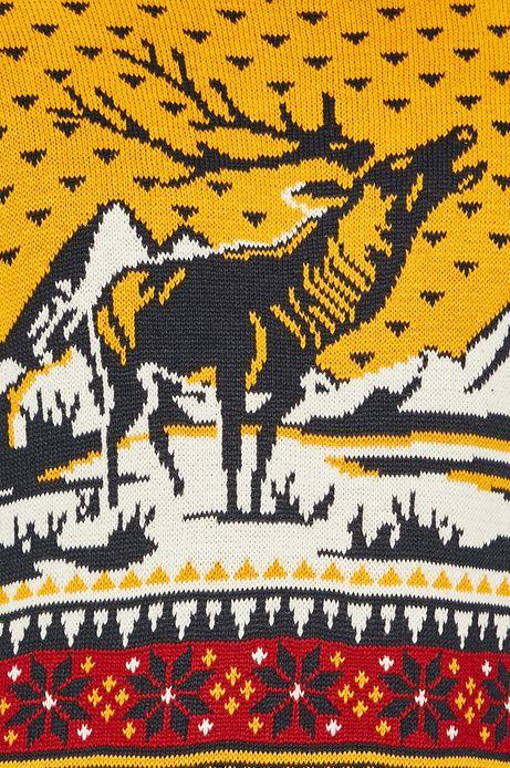 Sweter męski z jeleniem