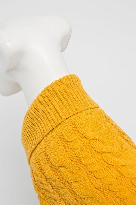Sweter dla pupila żółty