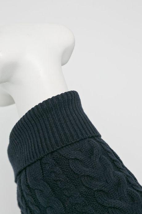 Sweter dla pupila granatowy