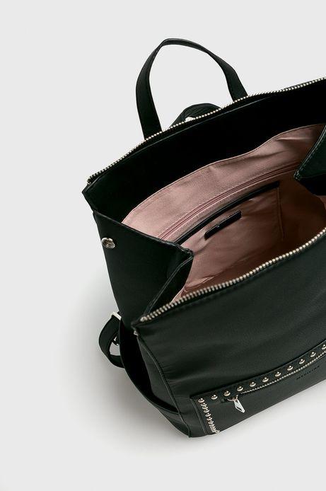 Plecak damski czarny z ćwiekami