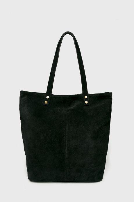 Torebka skórzana damska Vintage Revival czarna