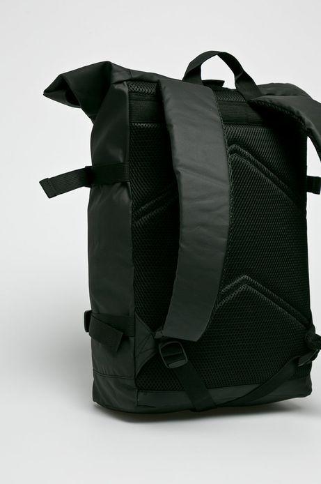 Plecak męski czarny gładki jednokomorowy