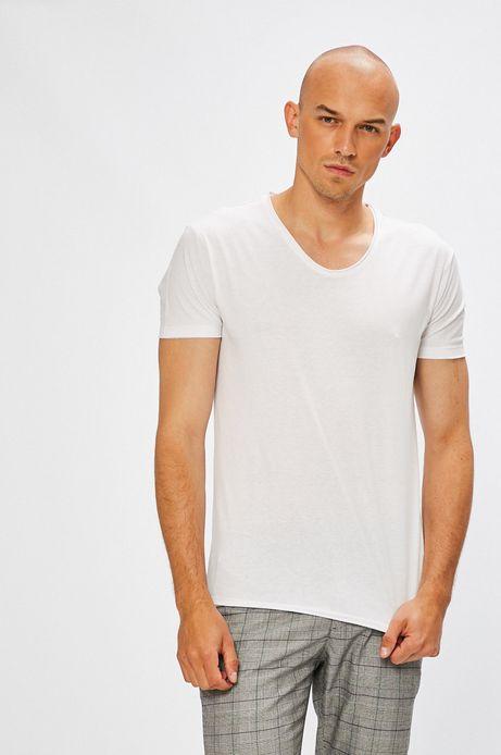 Man's T-shirt męski Monumental biały