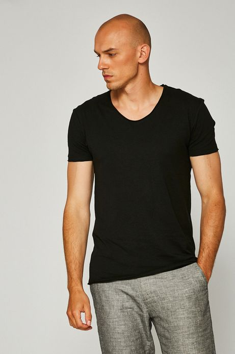 Man's T-shirt męski Monumental czarny