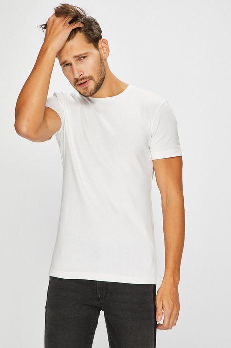 Man's T-shirt męski biały gładki