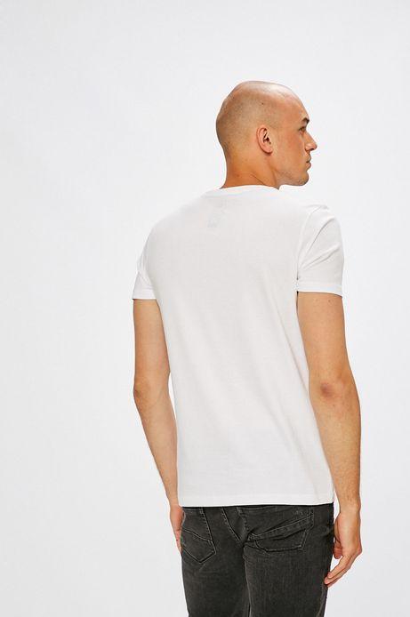 T-shirt męski Dawid Ryski for Medicine biały