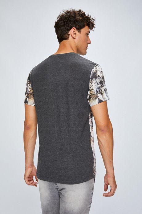 T-shirt męski ze wzorem