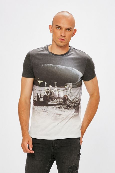 Man's T-shirt męski Nasa biały