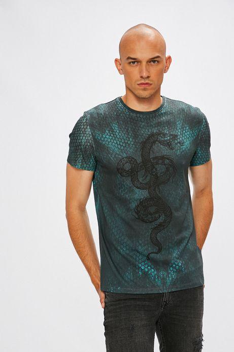Man's T-shirt męski Underground Mysteries multicolor