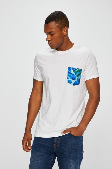 T-shirt męski by Natalia Rak, Street Art biały