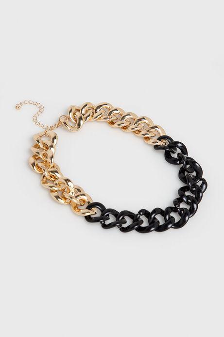 Naszyjnik damski łańcuch złoty