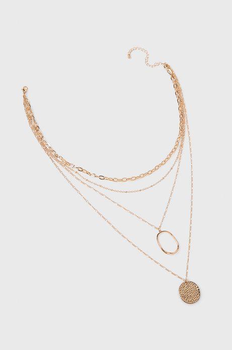 Naszyjnik damski złoty