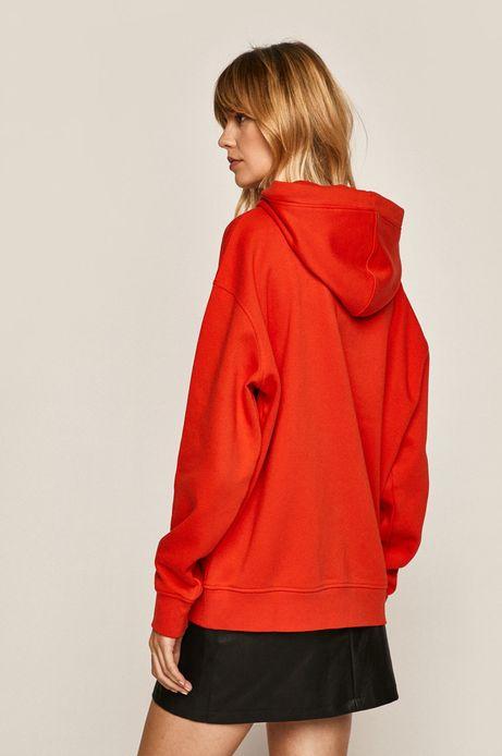 Bluza damska z kieszeniami czerwona
