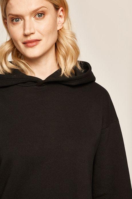 Bluza damska z kapturem czarna