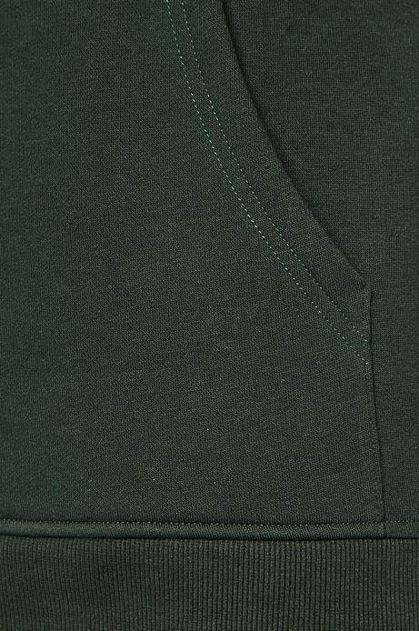 Bluza męska z kapturem zielona