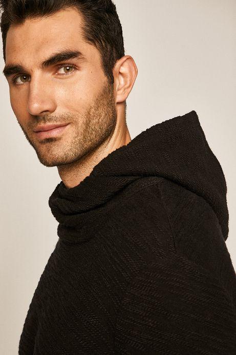 Bluza męska z kapturem czarna