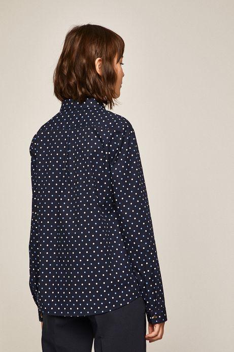 Koszula damska granatowa