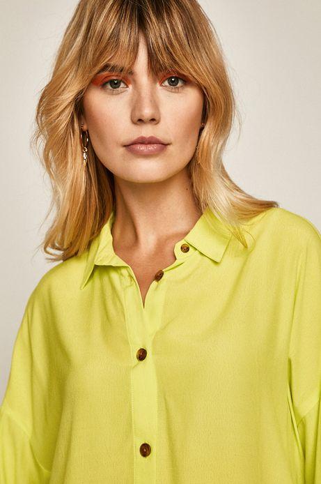 Koszula damska zielona