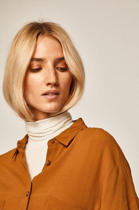 Koszula damska pomarańczowa