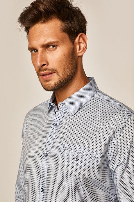 Koszula męska Basic niebieska