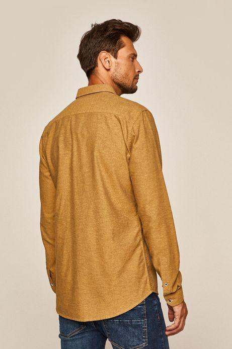 Koszula męska żółta