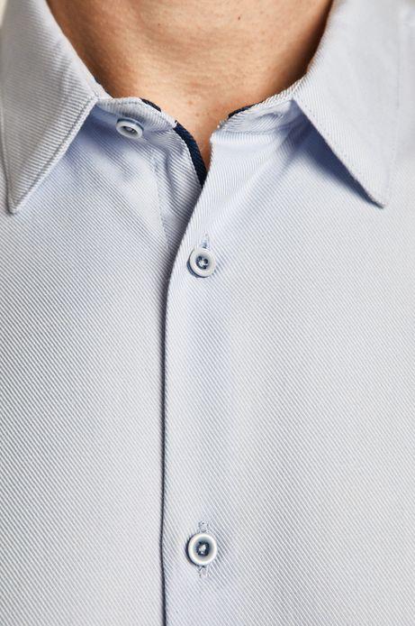 Koszula męska niebieska