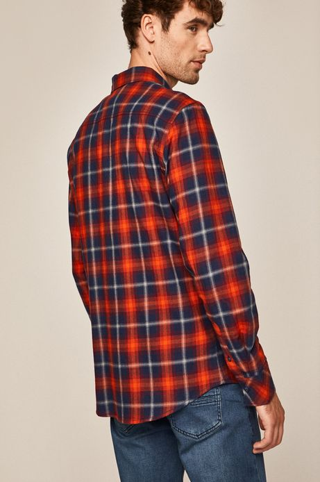Koszula męska w kratkę