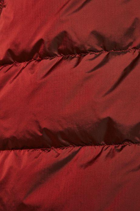 Kurtka puchowa damska czerwona