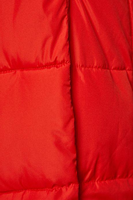 Kurtka damska czerwona