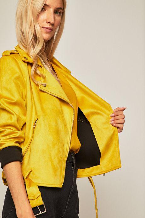 Ramoneska damska żółta