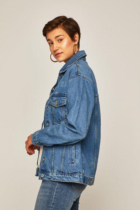 Kurtka jeansowa damska niebieska