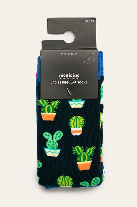 Skarpetki damskie w kaktusy (2-pack)
