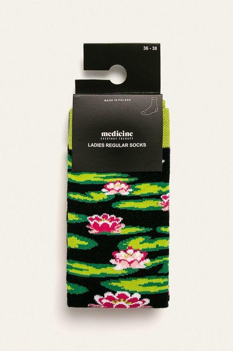 Skarpetki damskie w lilie (2-pack)